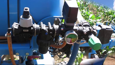 Rakamazi Növénytermesztő Kft. (Rakamaz, Hungary)|ORS-6/3FM Cultivator equipped with spring tines and 600 l liquid fertilizer ada