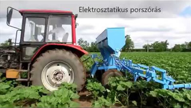 József Tóth (Pilis, Hungary)|ORS-6/3M Cultivator equipped with 700 kg fertilizer adapter
