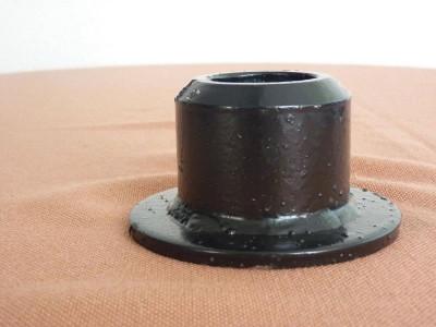 Short bearing support
