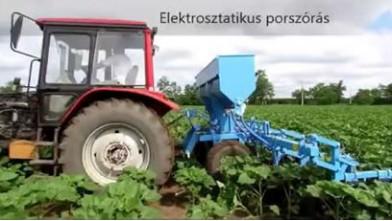 MTZ + Omikron inter row cultivator